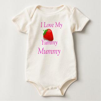 Yummy Mummy Baby Grow Baby Bodysuit