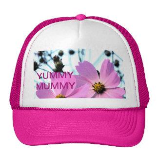 """YUMMY MUMMY "" FLORAL PRODUCTS CAP"