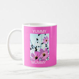 """""""YUMMY MUMMY """" FLORAL PRODUCTS COFFEE MUG"""