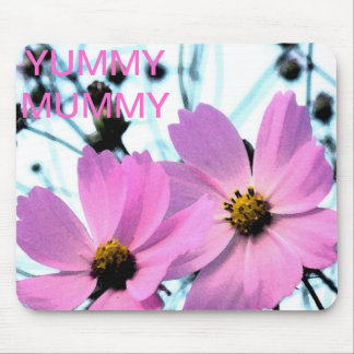 YUMMY MUMMY FLORAL PRODUCTS MOUSE PAD