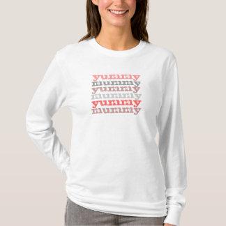 yummy mummy long sleeve tee