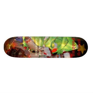 yummy pudding, Indian joechristmas Custom Skateboard