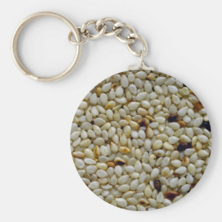 Yummy Sesame seeds Key Ring