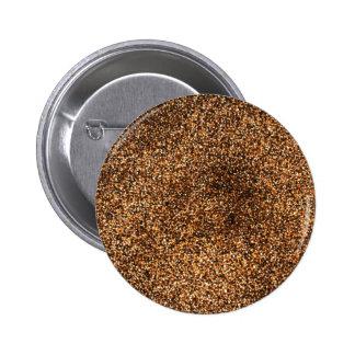 Yummy Short grain brown rice Pinback Button