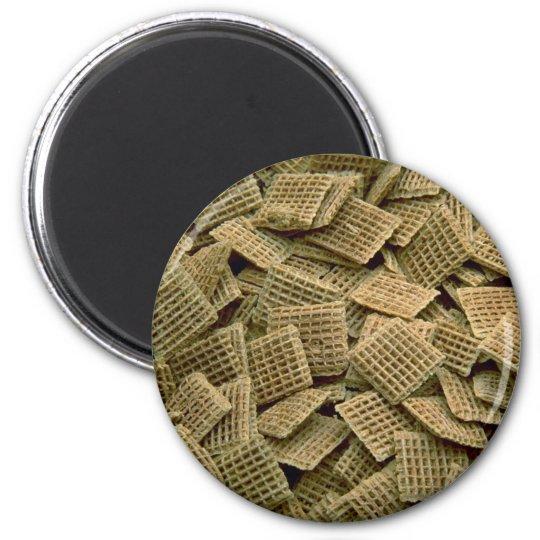 Yummy Shredded wheat 6 Cm Round Magnet