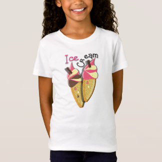Yummy Strawberry Chocolate Vanilla Ice Cream T-Shirt