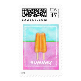 Yummy Summer Postage Stamp
