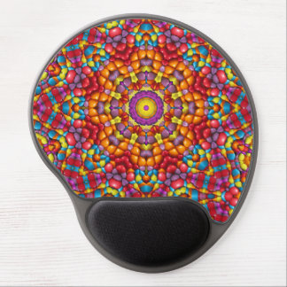 Yummy Vintage Kaleidoscope , Gel Mousepad Gel Mouse Mat