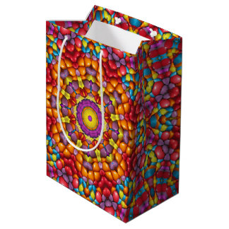Yummy  Vintage Kaleidoscope Medium Gift Bag
