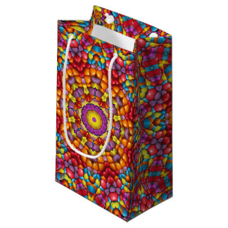 Yummy  Vintage Kaleidoscope Small Gift Bag