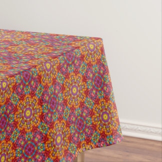 Yummy  Vintage Kaleidoscope   Tablecloth