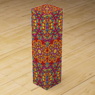Yummy  Vintage Kaleidoscope Wine Gift Box