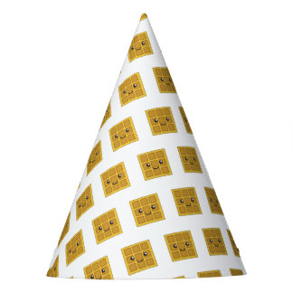 Yummy Waffle Party Hat