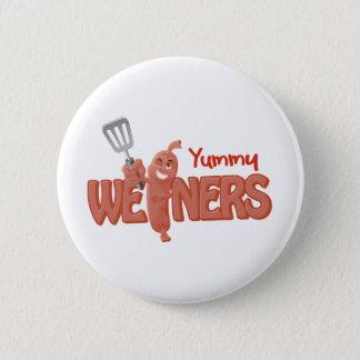 Yummy Weiners 6 Cm Round Badge
