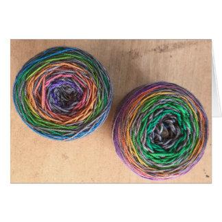 Yummy yarn card