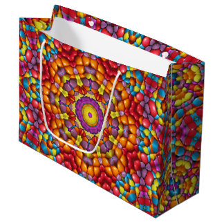 Yummy Yum  Vintage Kaleidoscope   Gift Bags