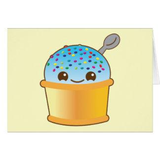 Yummy yummy bucket ice-cream kawaii! NP Card