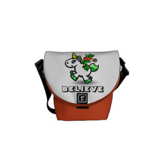 """Yummy's """"Believe"""" Fanny Pack Courier Bag"""