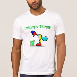Yummy's Official Infinitely Thirsty Drinky Bird T T Shirts
