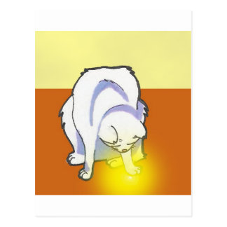 Yuna Anime Art Gallery Character Postcard