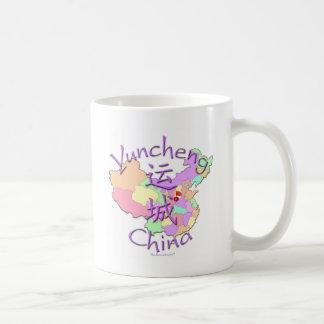 Yuncheng China Basic White Mug
