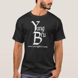 Yung Bru Logo with Website T-Shirt