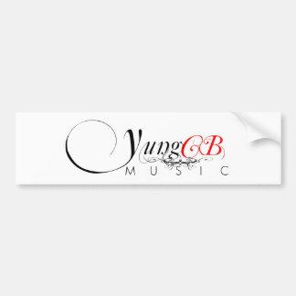 Yung CB Music Bumper Sticker