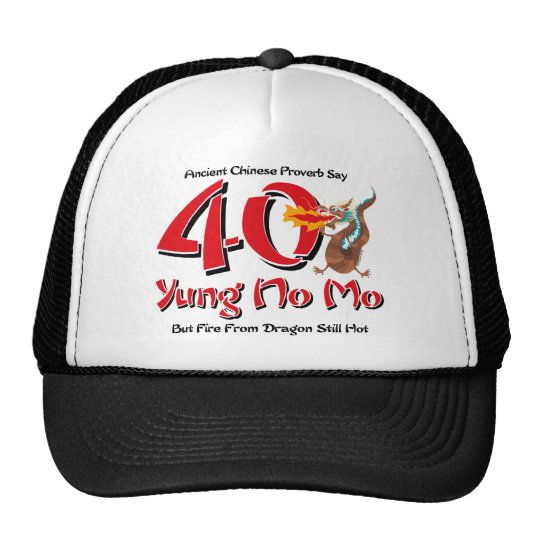 Yung No Mo 40th Birthday Cap