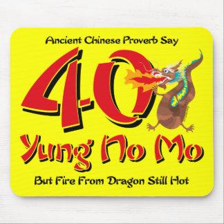 Yung No Mo 40th Birthday Mouse Pad