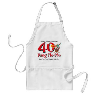 Yung No Mo 40th Birthday Standard Apron