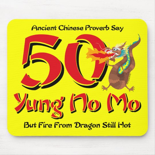 Yung No Mo 50th Birthday Mouse Pad