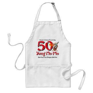 Yung No Mo 50th Birthday Standard Apron