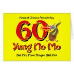 Yung No Mo 60th Birthday Card