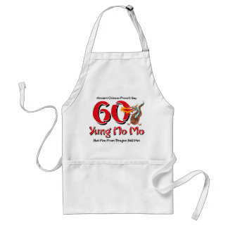 Yung No Mo 60th Birthday Standard Apron