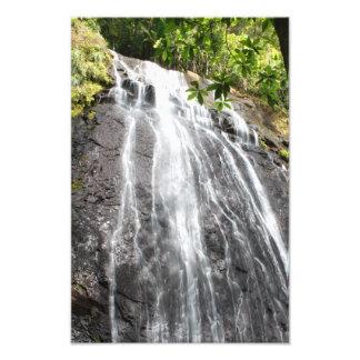 Yunque Waterfall Puerto Rico Photo Print