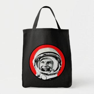 Yuri Gagarin - Soviet Hero & Cosmonaut Grocery Tote Bag