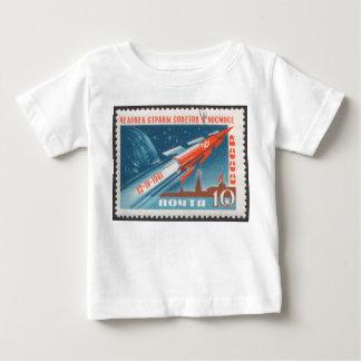 Yuri Gagarin Vostok 1 is 1st Man in Space Baby T-Shirt
