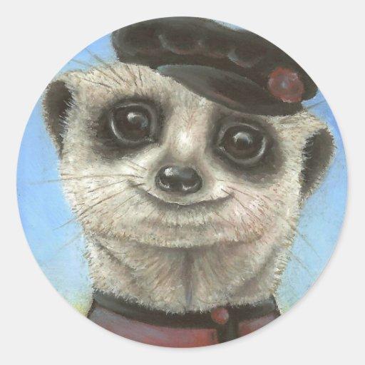 Yuri the meerkat sticker