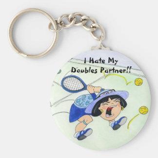 Yuriko keychain - I Hate My Doubles Partner