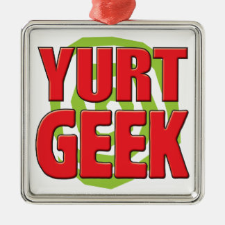 Yurt Geek Christmas Ornament