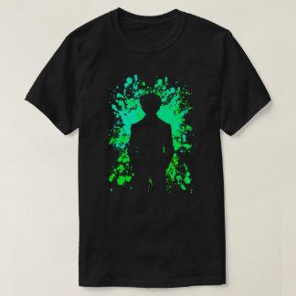 Yusuke Paint Splatter Anime Manga Shirt