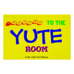 Yute Room Poster