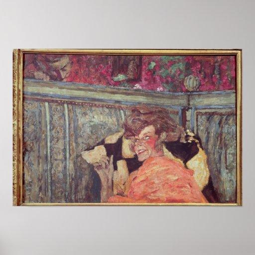 Yvonne Printemps  and Sacha Guitry  c.1912 Print