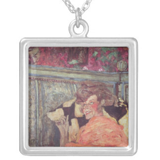 Yvonne Printemps  and Sacha Guitry  c.1912 Silver Plated Necklace