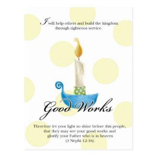 YW Value Card- Good Works Postcard