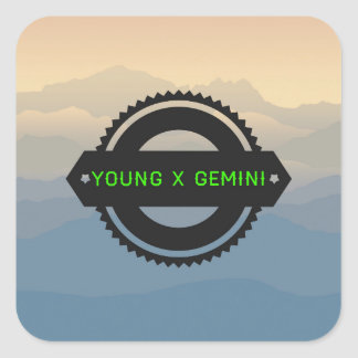 YXG Logo #1 Square Sticker