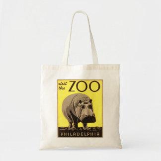 Z00 - Hippo Canvas Bags
