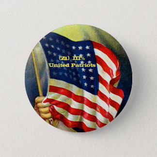 Z1 Patriots 6 Cm Round Badge