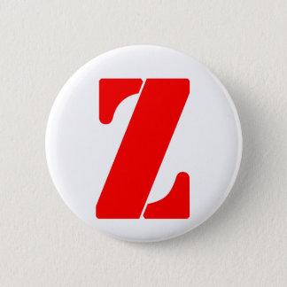 Z_2 6 CM ROUND BADGE