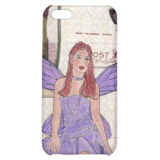 "Z ""Botanical Purple Fairy"" iPhone 4 case"